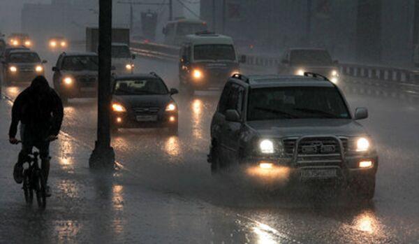 Une pluie tropicale s'est abattue sur Tomsk - Sputnik France
