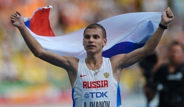 Alexandre Ivanov : première médaille pour la Russie des Championnats du monde d'athlétisme 2013 - Sputnik France