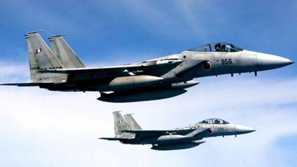 Les chasseurs japonais sont montés dans le ciel à 80 reprises suite à l'activité de l'armée de l'air chinoise - Sputnik France
