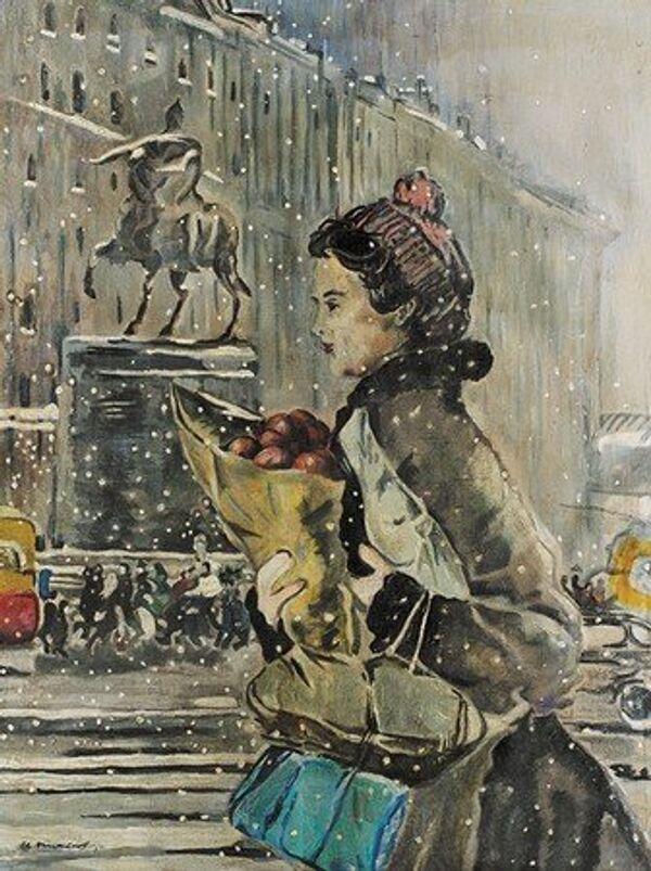 L'hiver à Moscou, Fin des années 1950 - Sputnik France