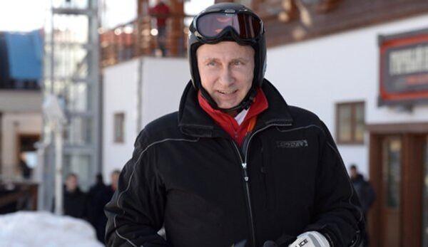 Poutine a fait du ski à Sotchi - Sputnik France