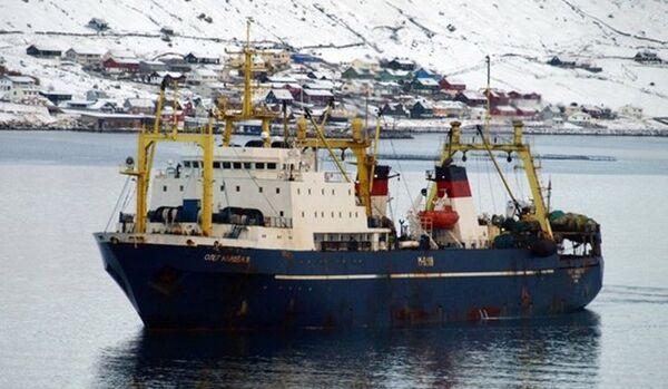 80 membres d'équipage pourraient se trouver à bord du chalutier Oleg Naydenov - Sputnik France