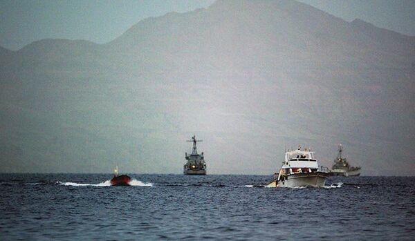 Un groupe de Russes sauvés d'un navire naufragé dans la mer Rouge - Sputnik France