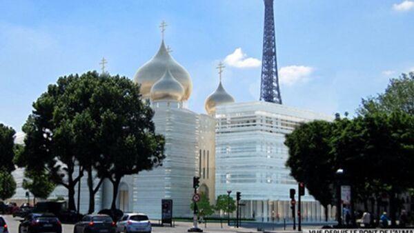 Projet « bicéphale » du Centre spirituel et culturel orthodoxe russe - Sputnik France