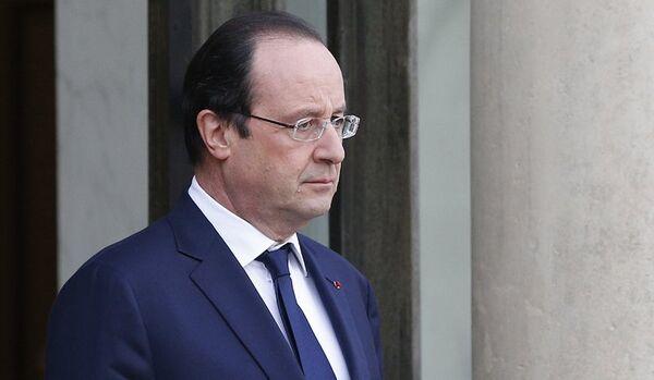 La cote de popularité de François Hollande repart à la baisse (Ifop) - Sputnik France