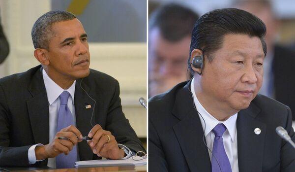 Barack Obama et Xi Jinping ont discuté de la situation en Ukraine - Sputnik France