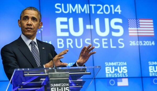 Le gaz américain pour l'Europe : un fantasme d'Obama - Sputnik France