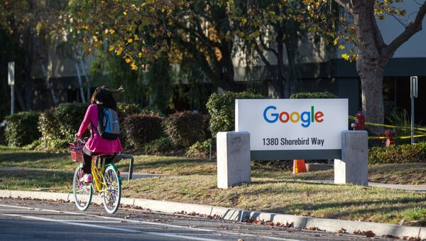A photo of the Google Campus in Mountain View, California, on November 10, 2015. - Sputnik France
