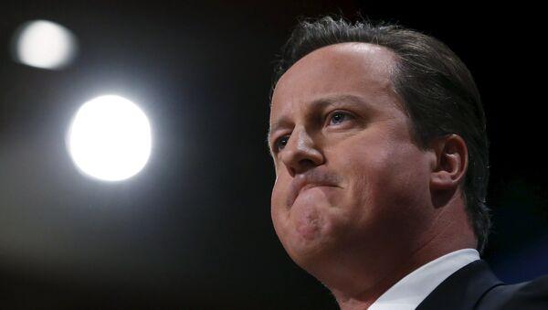 David Cameron, premier ministre britannique - Sputnik France