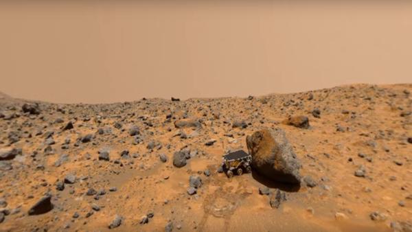 La sonde Mars Pathfinder sur la Planète rouge - Sputnik France