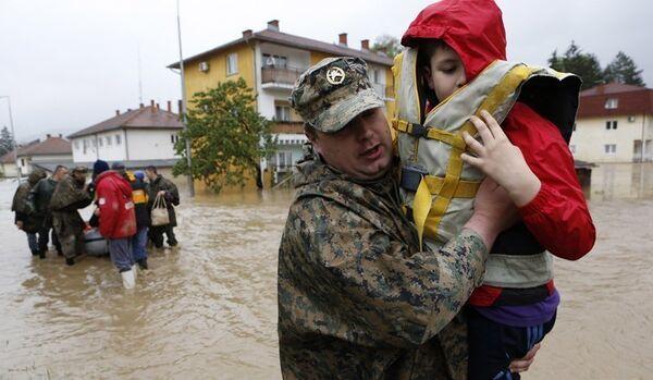 Bosnie-Herzégovine : les inondations font au moins un mort - Sputnik France