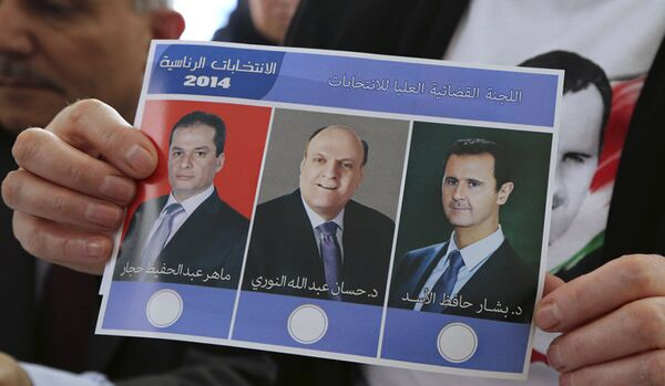 Présidentielle en Syrie : un pays à la croisée des chemins - Sputnik France