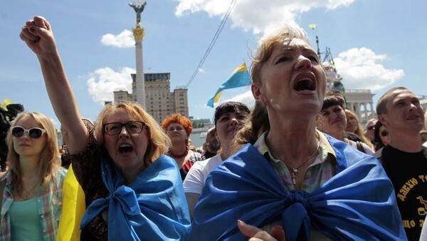 Ukraine: les manifestants du Maïdan à Kiev ne veulent pas partir - Sputnik France