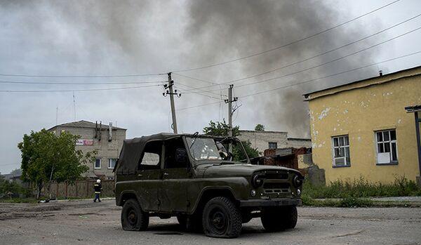 Le gouverneur de Lougansk déclare avoir repoussé les forces de l'armée - Sputnik France