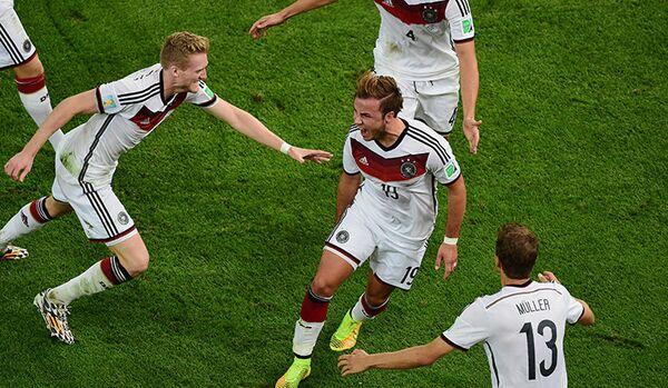L'Allemagne championne du monde en battant l'Argentine 1 à 0 - Sputnik France