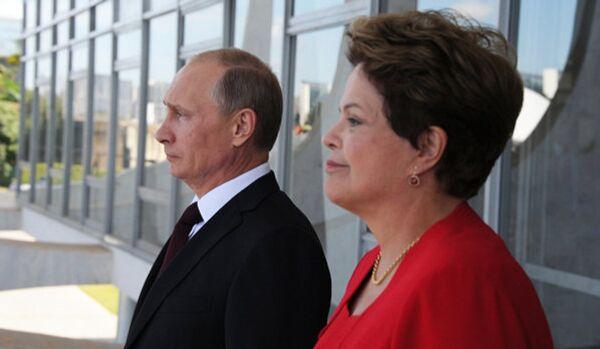 La présidente brésilienne note un rapprochement avec la Russie - Sputnik France