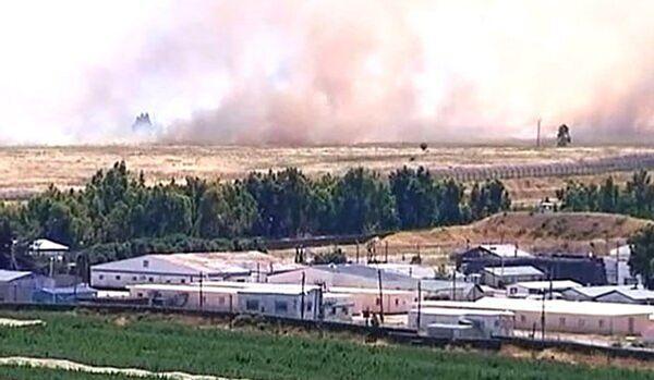 Une autre fusée syrienne est tombée au Nord d'Israël - Sputnik France
