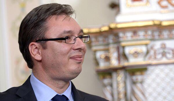 Le premier ministre serbe a à nouveau fait l'éloge du projet South Stream - Sputnik France