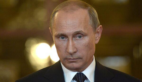 Poutine fera la une du Time au mois d'août - Sputnik France