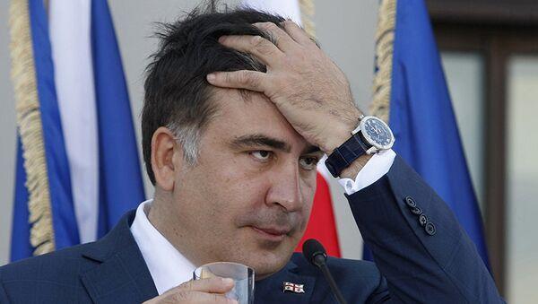 Géorgie : l'ex-président Saakachvili arrêté par contumace - Sputnik France
