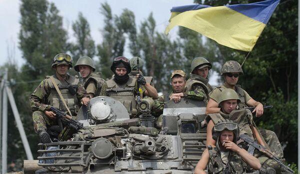 La garde nationale d'Ukraine recrute des adolescents - Sputnik France