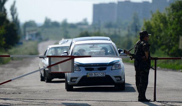 Ukraine : l'OSCE a confirmé le pilonnage du poste-frontière de Goukovo - Sputnik France