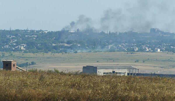 Des combats se poursuivent dans les quartiers Ouest de Donetsk - Sputnik France