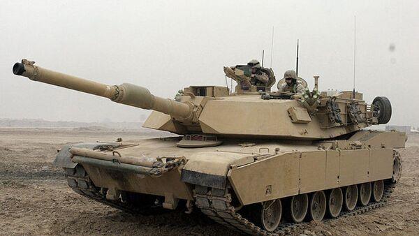 Un char lourd Abrams - Sputnik France