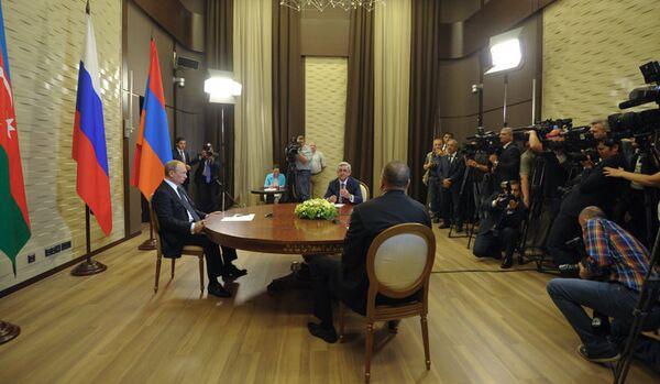 Haut-Karabakh : pax americana vs pax russica - Sputnik France