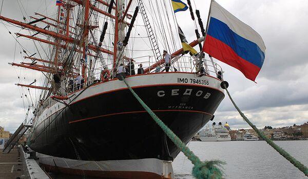 Le voilier russe Sedov interdit d'entrée dans un port suédois - Sputnik France