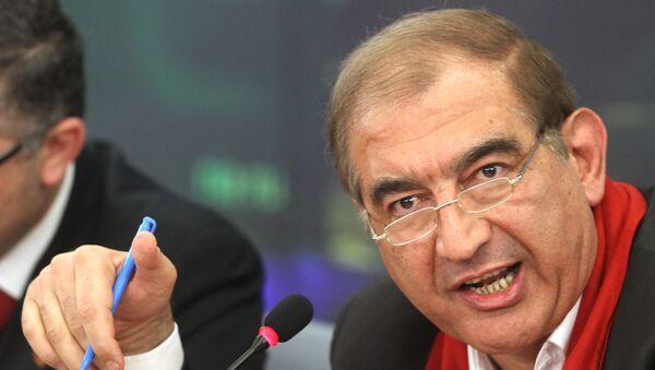 L'un des leaders d'un groupe de l'opposition syrienne modérée, Qadri Jamil - Sputnik France