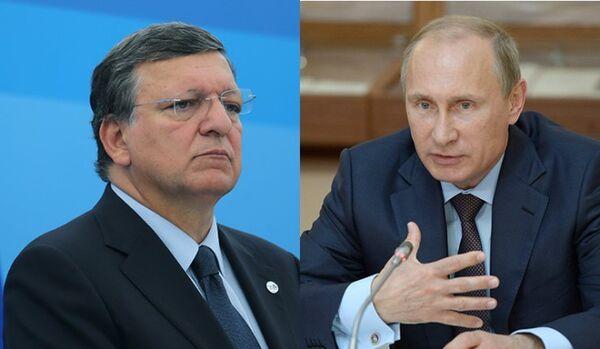 L'administration du président russe prête à publier la discussion téléphonique de Poutine avec Barroso - Sputnik France