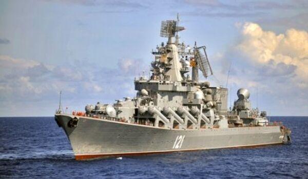 Le croiseur porte-missiles Moskva fait route vers la Méditerranée - Sputnik France