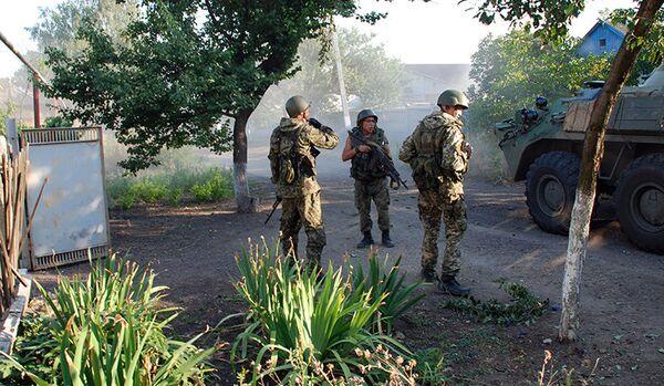 Donetsk : la milice a libéré 15 militaires ukrainiens - Sputnik France