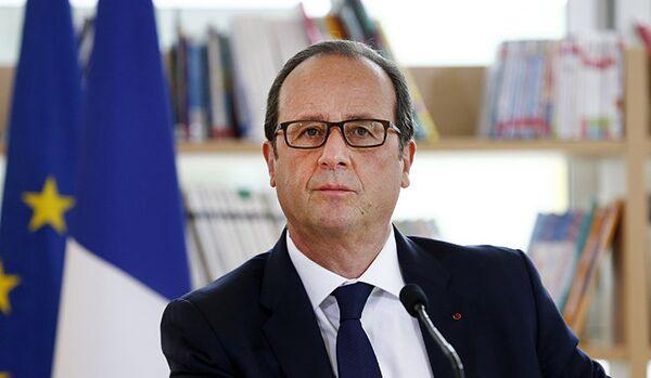 Hollande refuse de se prononcer sur une éventuelle candidature en 2017 - Sputnik France