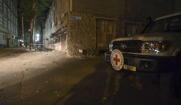 Un employé suisse de la Croix-Rouge tué par un obus à Donetsk - Sputnik France