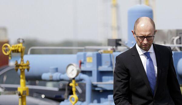 Iatseniuk espère régler le différend gazier avec la Russie - Sputnik France