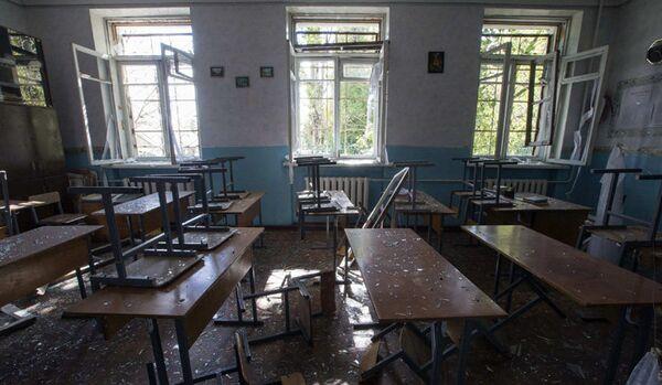 Donetsk : la mission de l'OSCE a examiné l'école et arrêt de bus pilonnés - Sputnik France