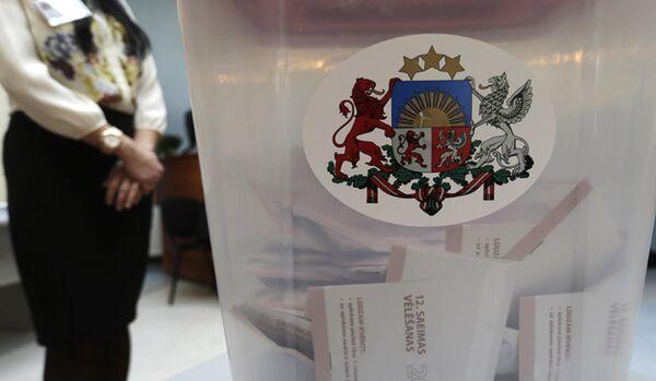 Le parti au pouvoir de la Lettonie Unité est en tête aux élections législatives - Sputnik France