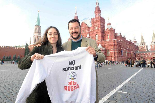 Salvini en Russie pour dire « non » aux sanctions - Sputnik France