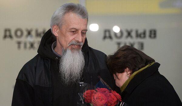 Le pilote russe libéré en Afghanistan arrivé à Moscou - Sputnik France