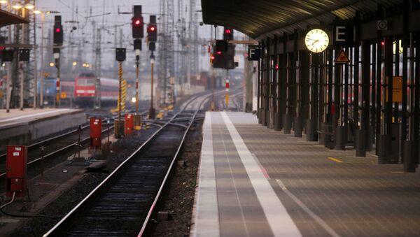 Allemagne : grève des conducteurs de train - Sputnik France