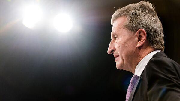 Gunther Oettinger - Sputnik France