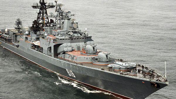 Le destroyer russe Severomorsk - Sputnik France