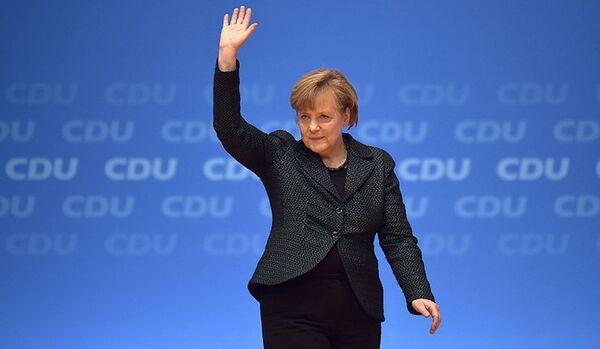 Merkel n'exclut pas de nouvelles sanctions contre la Russie - Sputnik France