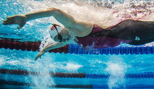 Les meilleurs moments des Championnats du monde de natation en petit bassin à Doha - Sputnik France