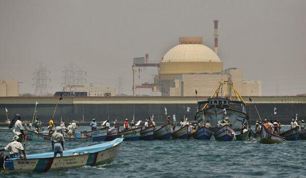 Centrale nucléaire indienne: le réacteur N°1 reconnecté au réseau national - Sputnik France