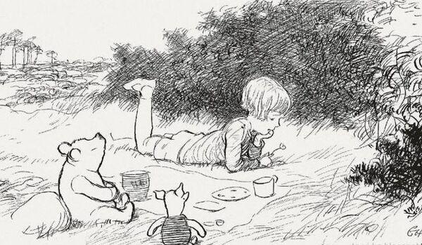 Record mondial pour la vente aux enchères d'une illustration originale de Winnie l'Ourson - Sputnik France