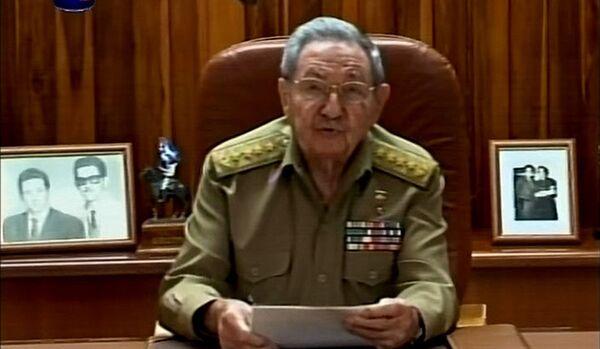 Castro confirme la reprise des relations diplomatiques avec les Etats-Unis - Sputnik France