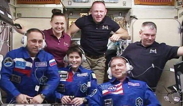 Fausse alerte à l'ISS - Sputnik France